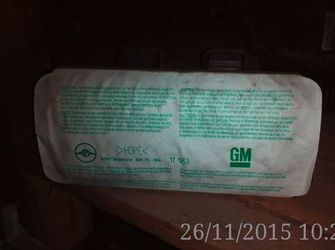 airbag pasager opel astraG 2005