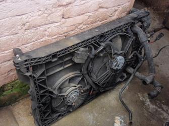 Radiator Renault Master complet + faruri stanga-dreapta fata