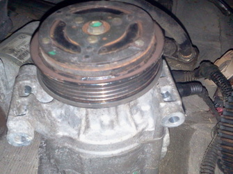Compresor aer conditionat fiat stilo 1.4-16valve 2003