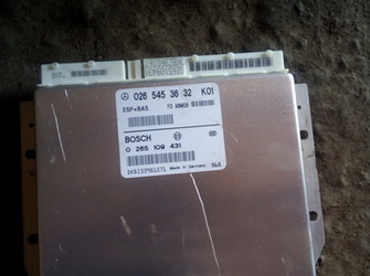 calculator abs esp mercedes benz w168 0265453632