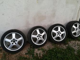 Set de roti 5x112 VW Audi Skoda Seat & Mercedes 225/45/R17