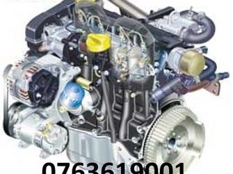 Motor si cutie LOGAN 1, 5 dci suna 0763619001 Motor si cutie LOGAN 1, 5 dci Vand motoare dacia logan