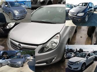 piese rezultate din dezmembrare pentru Opel Astra , Corsa , Frontera , Meriva , Zafira