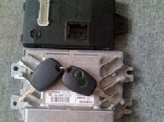 Vand calculator dacia logan kit pornire (imobilizator cip cheie calculator cititor cheie) avem 0rice