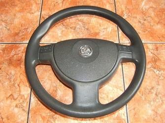 Volan clasic cauciuc + airbag corsa c , meriva , combo 01-06