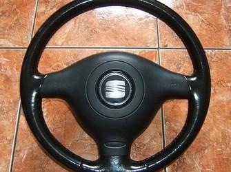 Volan piele+ airbag seat leon , toledo 2001-2006