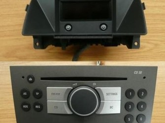 Radio cd + display opel astra h , zafira b 2005-2009