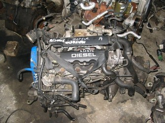 OPEL Astra G X17DTL BLOC MOTOR , cutie viteza, pompa injectie