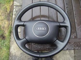 Volan piele + airbag audi a4 2001-2005