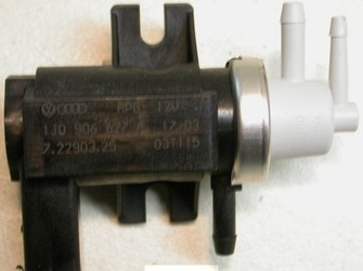Vand electrovalva vacuum turbo codul 1j0906627a pentru diferite motorizari vw,audi,seat