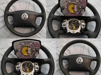 Airbag + volan nou !!! prinderea in cleme , model 2001-2004 sharan, golf 4, passat , bora !!!
