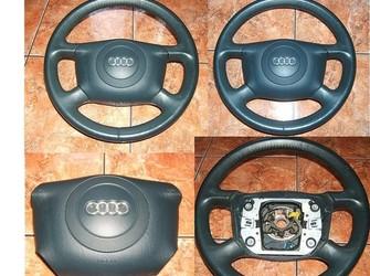 Volan + airbag audi verde-albastru 99-01