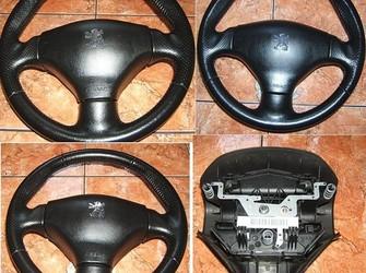Volan piele+airbag 206 si 206 cc 2001-2009