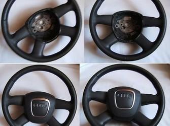 Volan piele grii + airbag audi a2, a3, a4, a5, a6,a8, q7,tt