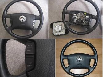 Volan piele neagra si comenzi volan + airbag !!!