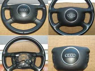 Volan cu airbag +comenzi audi a2,a3,a4,a6,a8 2001-2005