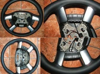 Volan piele + comenzi ford focus , c max, transit  2004-2010