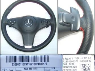 Airbag si volan mercedes slk r171 . w171 2008-2011 sl r230 . cls w219
