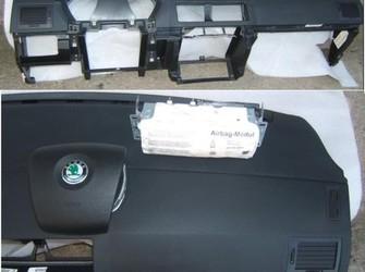 Set skoda fabia1 plansa bord si airbaguri 2005-2006