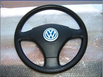 Volan si airbag 3 spite plastic vw bora 2000-2004