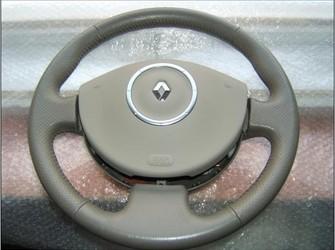 Airbag si volan piele renault megane , scenic 2 crem 2006-2009
