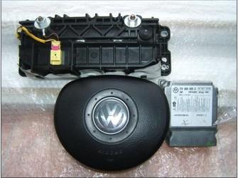Airbag sofer pasager si modul vw touran 2005-2008
