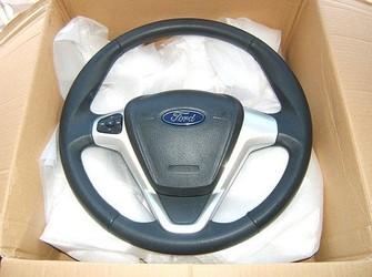 Volan piele si comenzi cu airbag 2010-2011 .    nou !!!