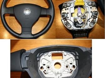 Airbag si volan piele vw  tiguan , touran  2006-2009