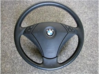 Airbag si volan piele cu comenzi bmw e60 2004-2007