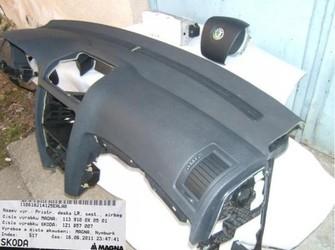 Airbag sofer si pasager cu plansa bord skoda octavia 2 noi !!!