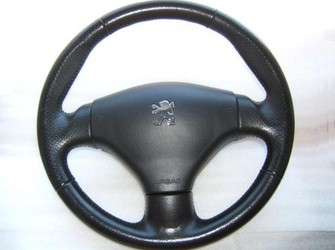 Volan piele si airbag peugeot 206 si 206 cc 2001-206