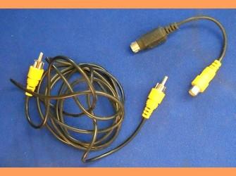 Cablu rca placa video doua componente