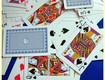 Pachet carti de joc verde poker jocuri distractive plast