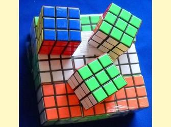 Cub rubik cubul culori 3x3x3 inteligenta jucarie plastic