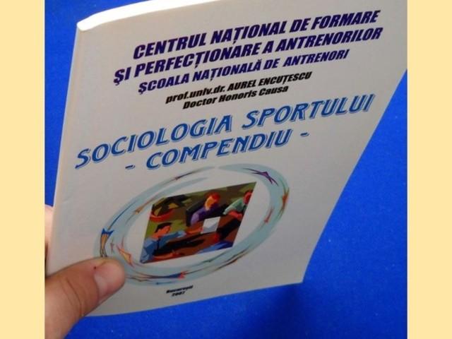 Carte sociologia sportului scoala de antrenori sportivi book