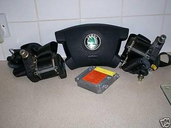 Set  airbag skoda fabia