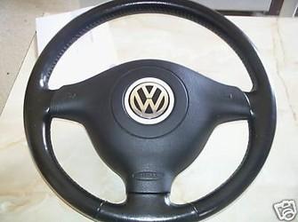 Volan si airbag pt golf , bora , passat in 3 spite